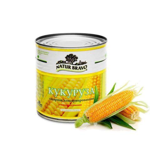 """""""Natur Bravo"""" кукуруза"""