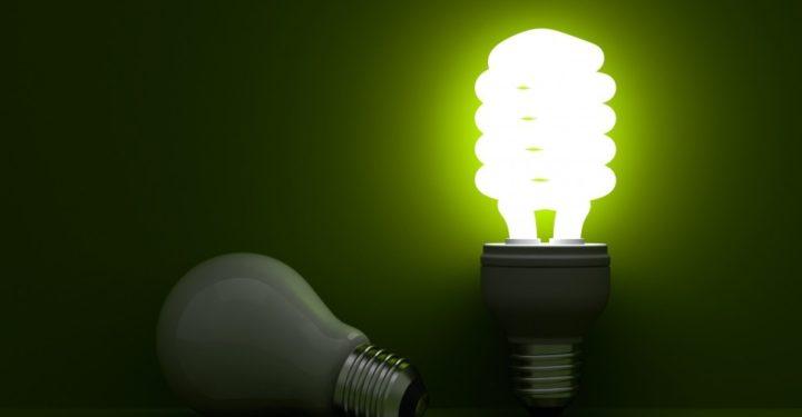 Включенная и выключенная лампочка