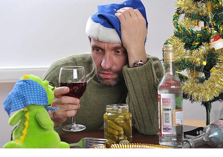 Пьяный в Новогоднюю ночь