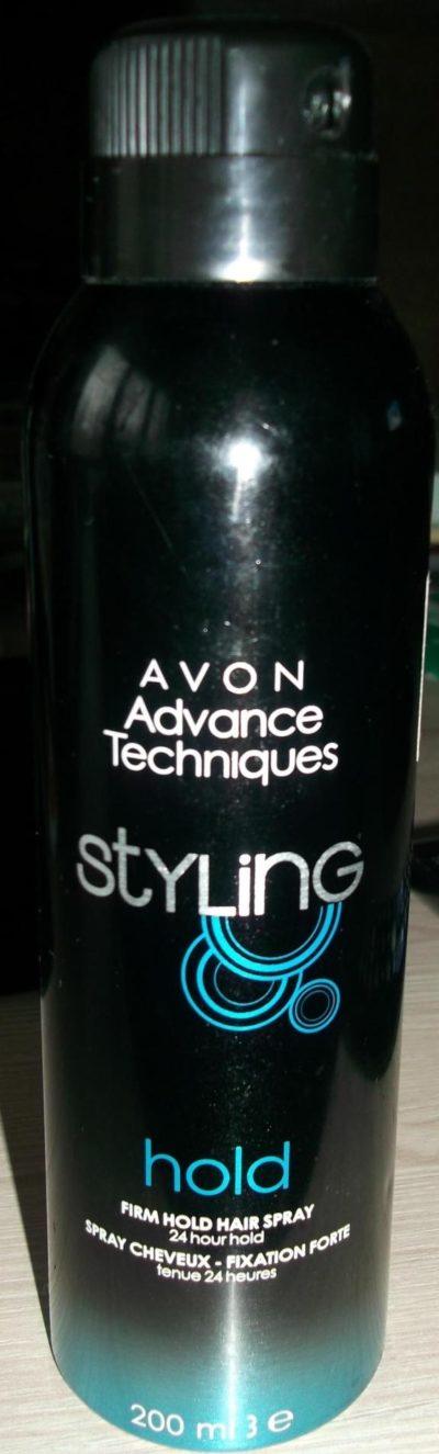 Лак для волос Avon Advance