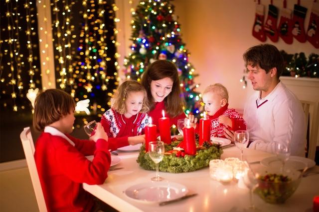Лучше всего провести новогоднюю ночь в окружении родных и близких людей