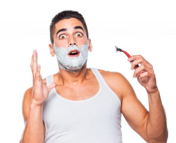 Плохой гель для бритья