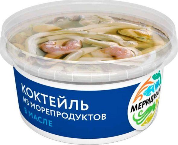 Коктейль из морепродуктов Меридиан