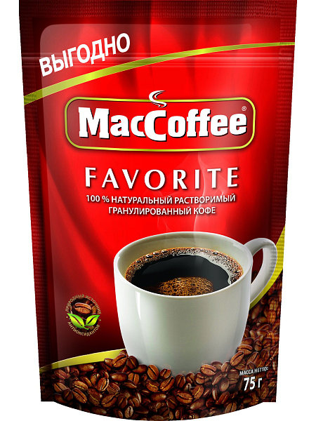 MacCoffeе Favorite растворимый