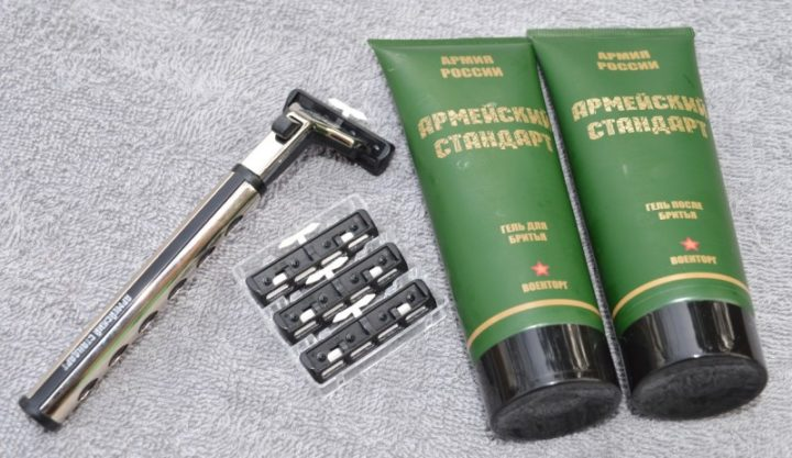 Гель для бритья Армия России «Армейский стандарт»