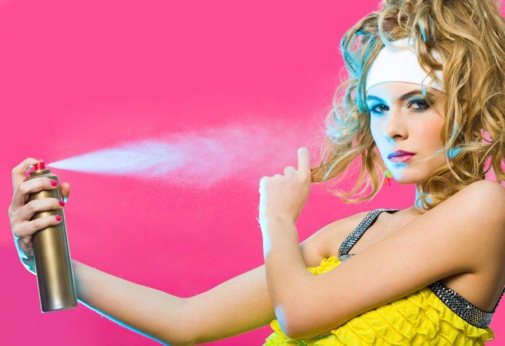 Перхоть и слипание — 7 худших лаков для волос