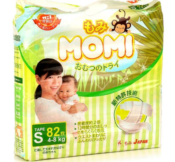 Подгузники Momi