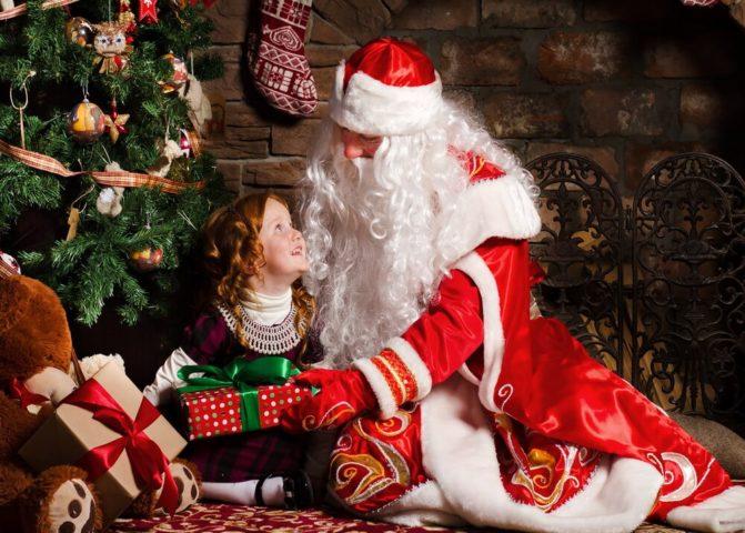 Услуга Деда Мороза и Снегурочки