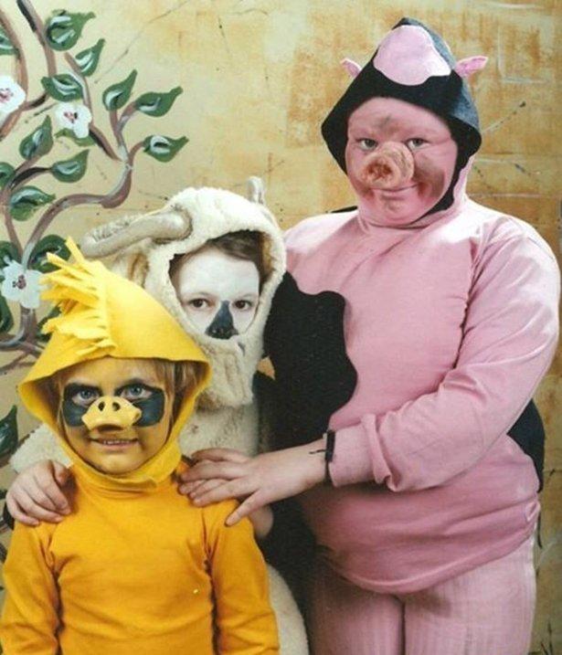 Ужасные костюмы на Новый год