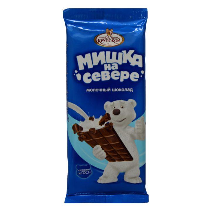 Шоколад «Мишка на Севере» от фабрики Крупской