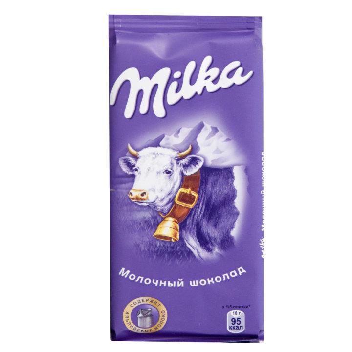 Шоколад Милка