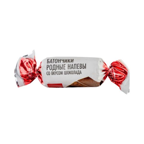 Батончики Родные напевы со вкусом шоколада
