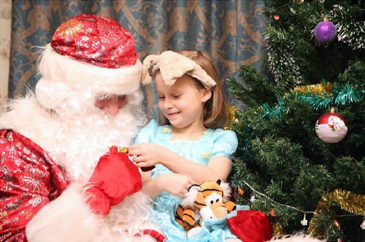 Дед Мороз для ребенка на Новый год