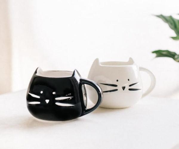 Чашки с кошками