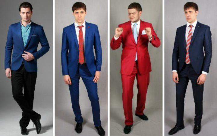 Классика мужской моды: синий, бордовый, серый, черный