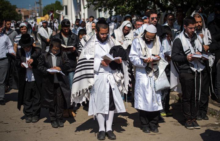 В Новый год израилитяне идут к воде и произносят молитву Ташлих