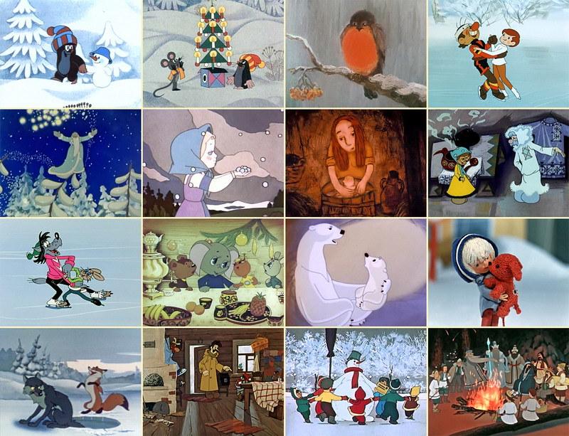 Детей можно увлечь просмотром веселых мультфильмов на праздничную тему