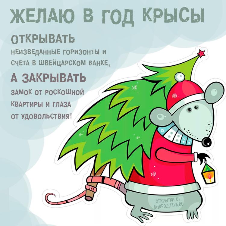 Пожелание в год Крысы
