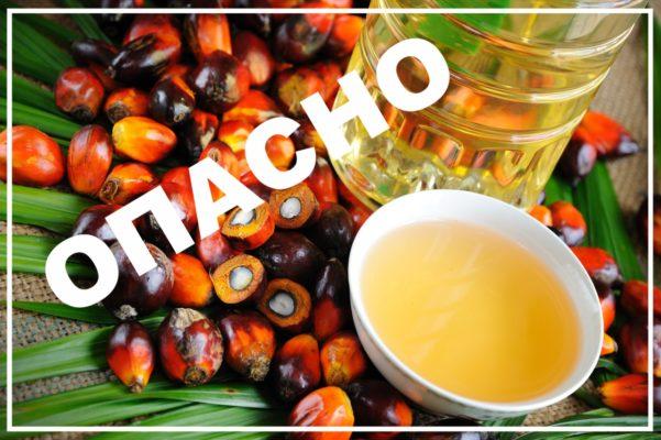 Опасность пальмового масла