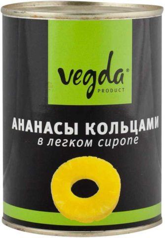 Ананасы VEGDA product
