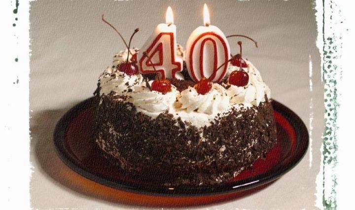 Торт на 40-летие