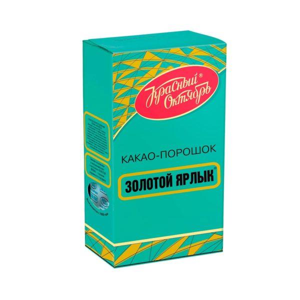 """Какао """"Золотой ярлык"""" / """"Красный Октябрь"""""""
