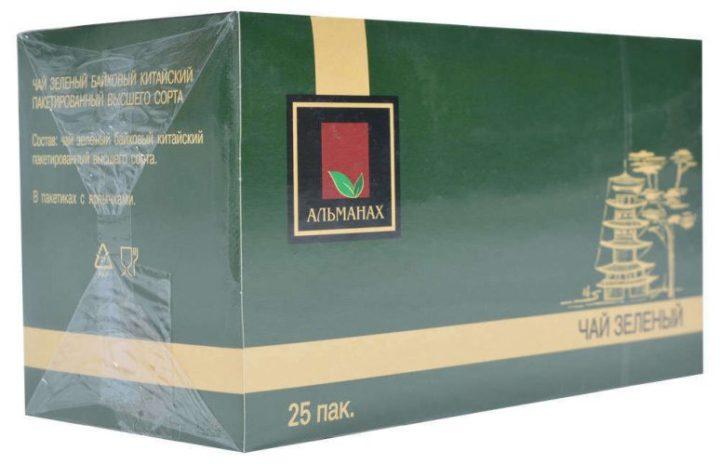 Зеленый чай Альманах