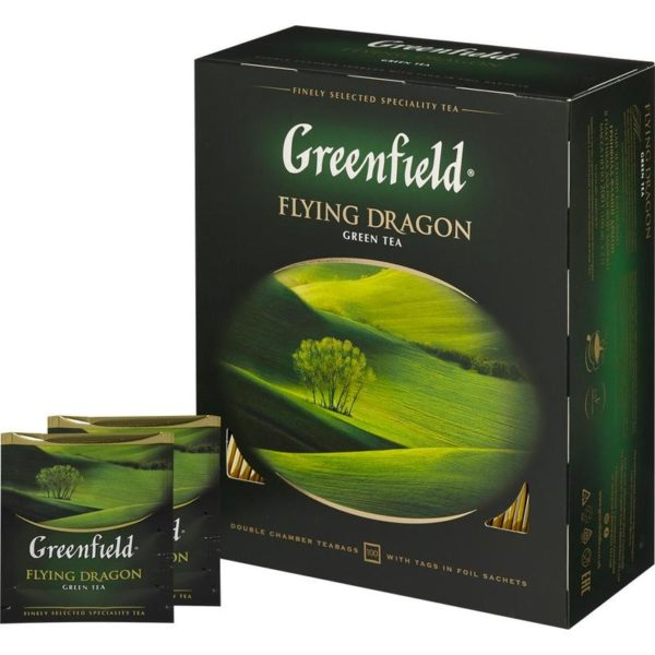 Greenfield зеленый байховый