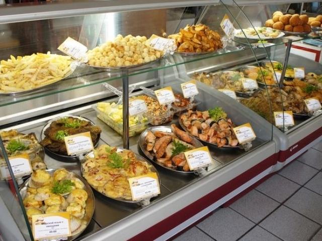 Кулинарный отдел в супермаркете