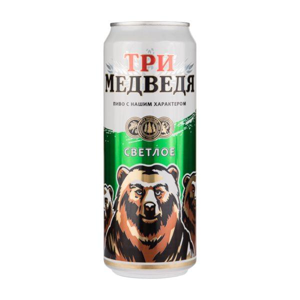 Пиво баночное Три Медведя