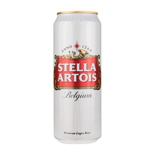 Пиво в банке Stella Artois
