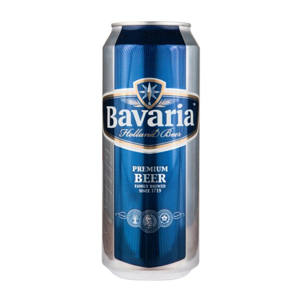 Пиво в банке Bavaria