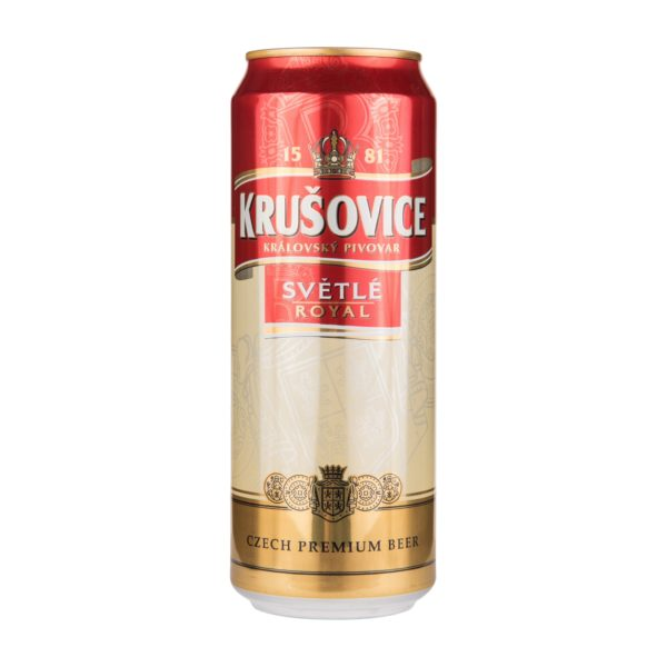 Пиво баночное Krušovice Royal