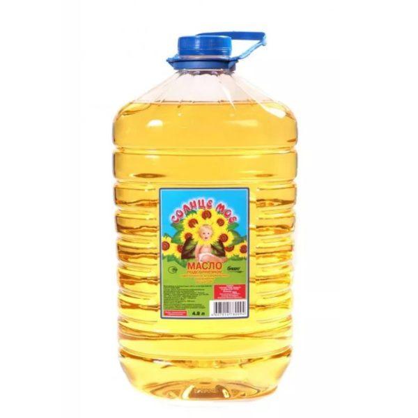 """Подсолнечное масло """"Солнце мое"""""""