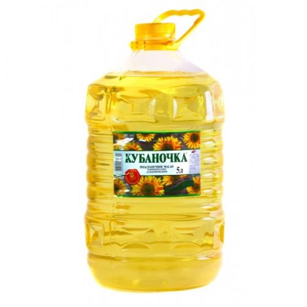 """Масло подсолнечное """"Кубаночка"""""""