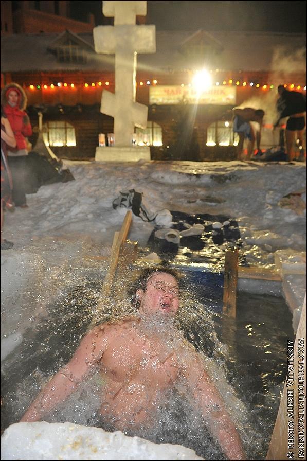 Как нырять на Крещение