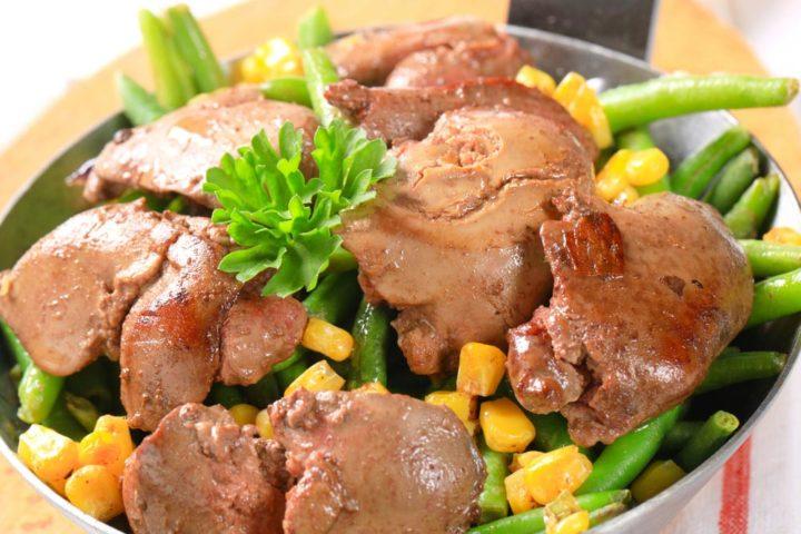 Блюда из курицы и субпродуктов