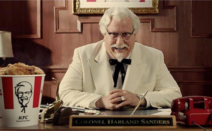 Основатель KFC Харленд Сандерс