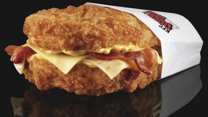 Бургер KFC без булки