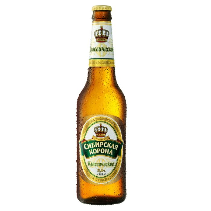 """Пиво """"Сибирская корона"""""""
