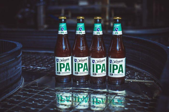 """Пиво """"Жигули IPA"""""""