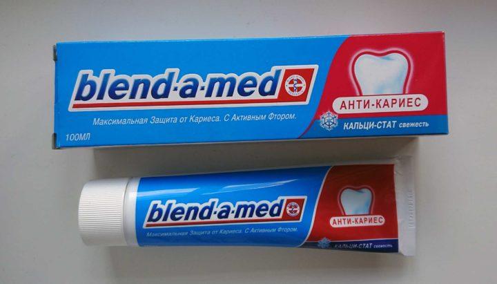 "Зубная паста Blend-a-med ""Анти-кариес свежесть"""