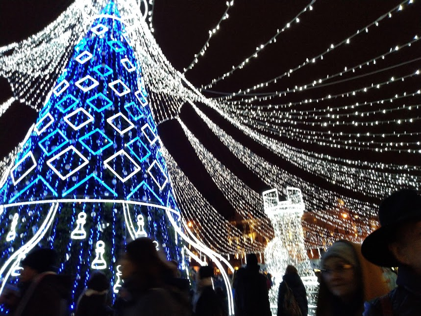 Главная елка Вильнюса