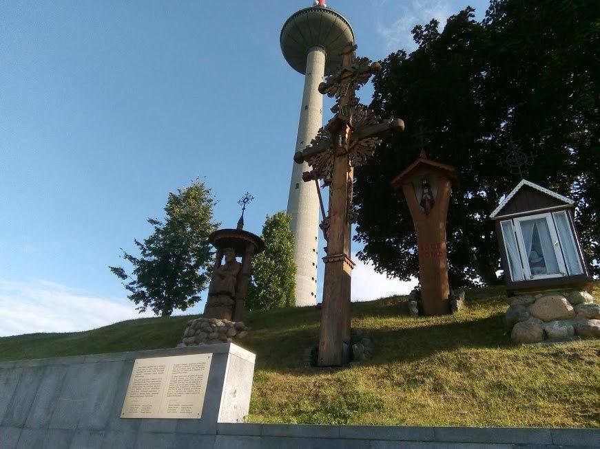 Мемориал у Вильнюсской телебашни