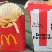 KFCи Макдональдс