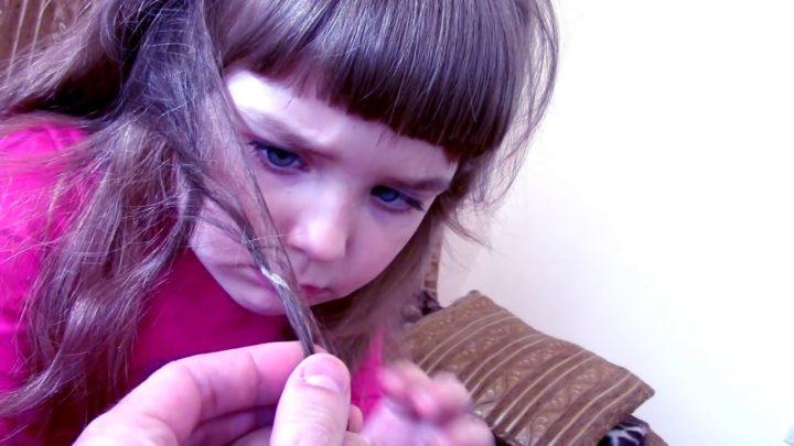 Майонез от жвачки в волосах