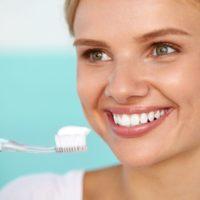 Зубная паста и улыбка