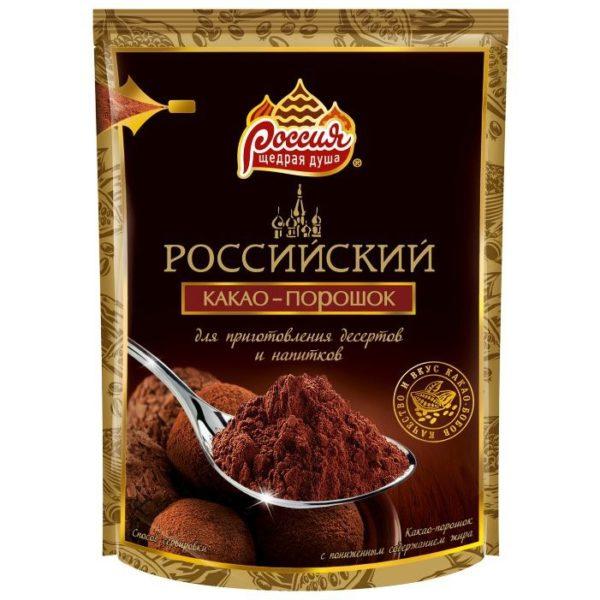 """Какао """"Россия – щедрая душа"""""""