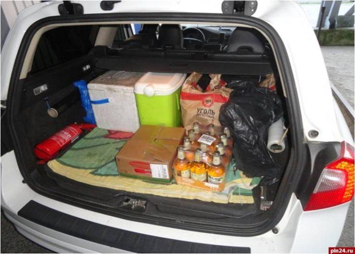 Штраф за незаконную перевозку товаров