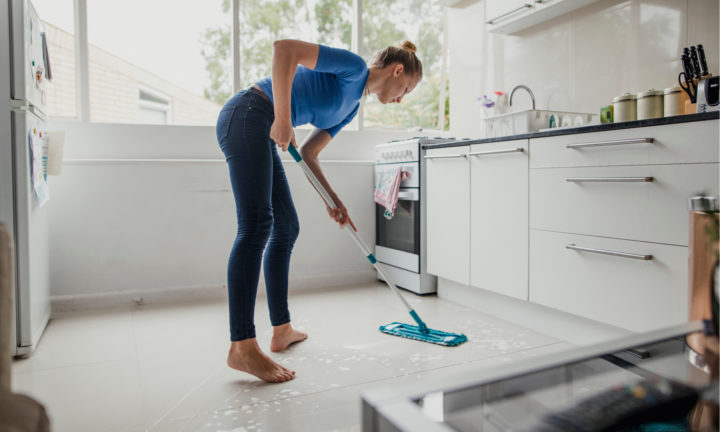 Благоприятное время для уборки в доме